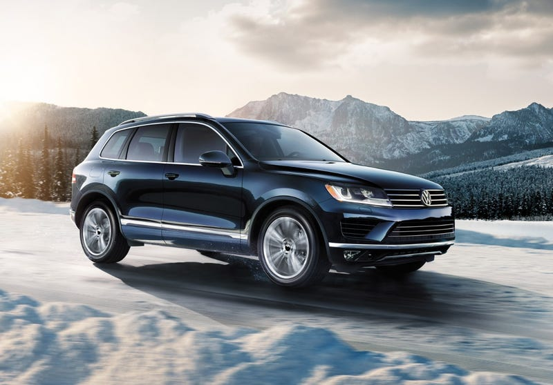 Illustration for article titled VW Touareg axed from US lineup for 2018