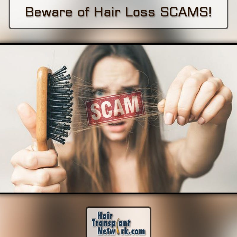 Illustration for article titled Beware of Hair Loss SCAMS!!