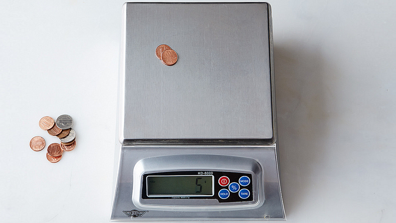 Test Your Kitchen Scale's Accuracy with Pocket Change