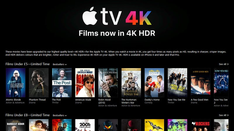 Here's Where All the 4K Content for Your New TV Is Hiding