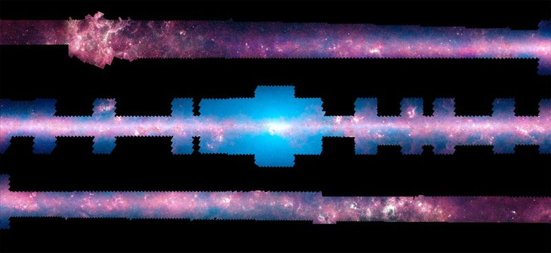 Illustration for article titled This Is the Clearest Infrared Panorama of the Milky Way Ever Captured