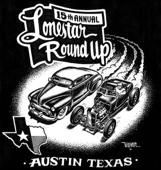 Illustration for article titled Anyone going to go to the Lonestar Roundup car show in Austin?