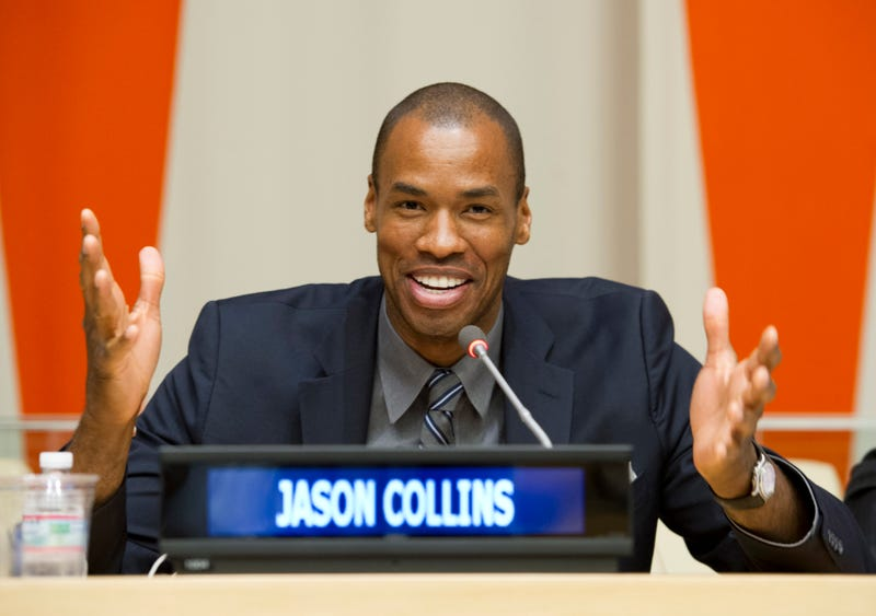Illustration for article titled Report: Nets Will Sign Jason Collins, Have First Openly Gay NBA Player