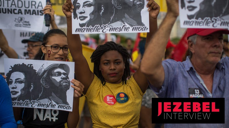Illustration for article titled 'Brazilian Black Women Have Been the Safeguard of Democracy': Feminist Gabriela Monteiro on Fighting the Rise of Bolsonaro