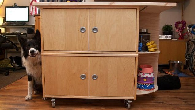 Combine 3 ikea parts into a rolling kitchen island for The combine kitchen