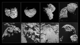 Illustration for article titled We Finally Know What's Inside Rosetta's Comet