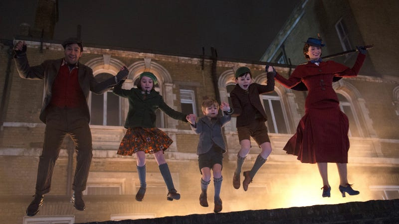 Let's jump into the first look at Mary Poppins Returns.