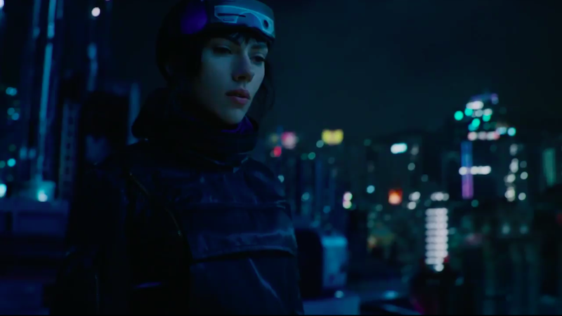 Watch The Opening Scene From GHOST IN THE SHELL