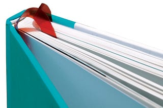 Illustration for article titled Page Chaser Bookmark Adds Autosave to Paper Books