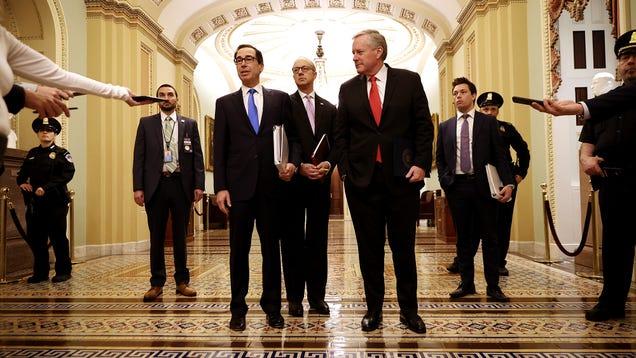 What's In Congress' Coronavirus Stimulus Bill