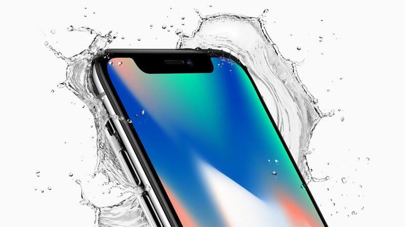 iPhone X. Imagen: Apple