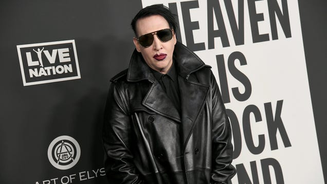 Los Angeles Sheriff's Department investigates Marilyn Manson over abuse allegations