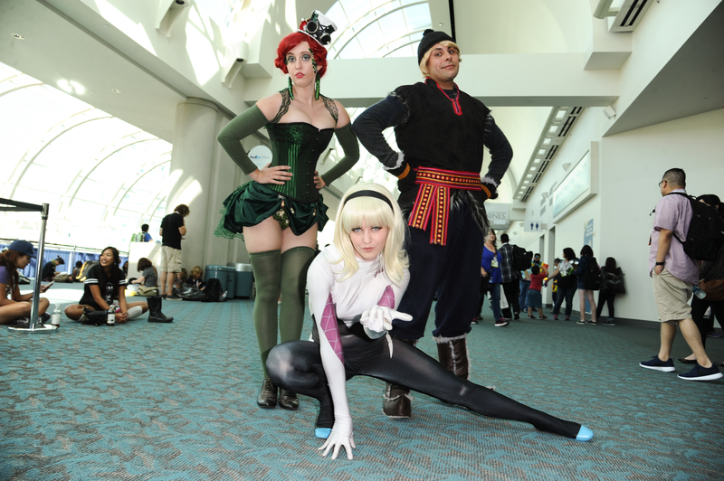Illustration for article titled The Most Fantastic Cosplay of Comic-Con 2015, Day Two!