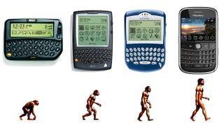 Illustration for article titled BlackBerry Design Evolution: O How Far We've Come?