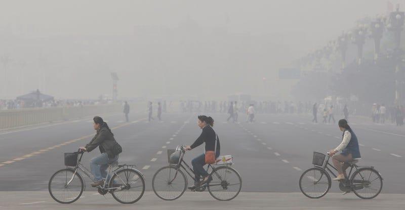 Illustration for article titled El plan de China para combatir la contaminación es reducir las emisiones de CO2 en un 60%