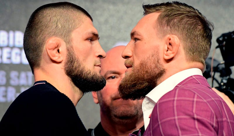 Illustration for article titled Khabib Nurmagomedov Is Going To Fuck Conor McGregor Up, Unless Conor Fucks Him Up First (He Might)