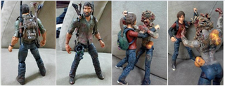 Illustration for article titled The Last Of Us Custom Action Figures