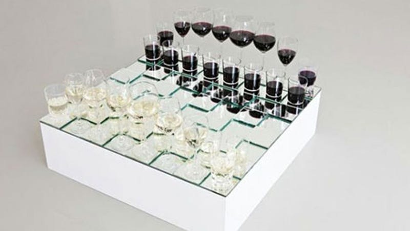 Illustration for article titled Chess: The World's Classiest Drinking Game