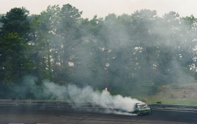 The Violent Calm Of An 850 Horsepower Mustang Drift Car