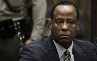 Dr. Conrad Murray is on trial for manslaughter. (Getty)