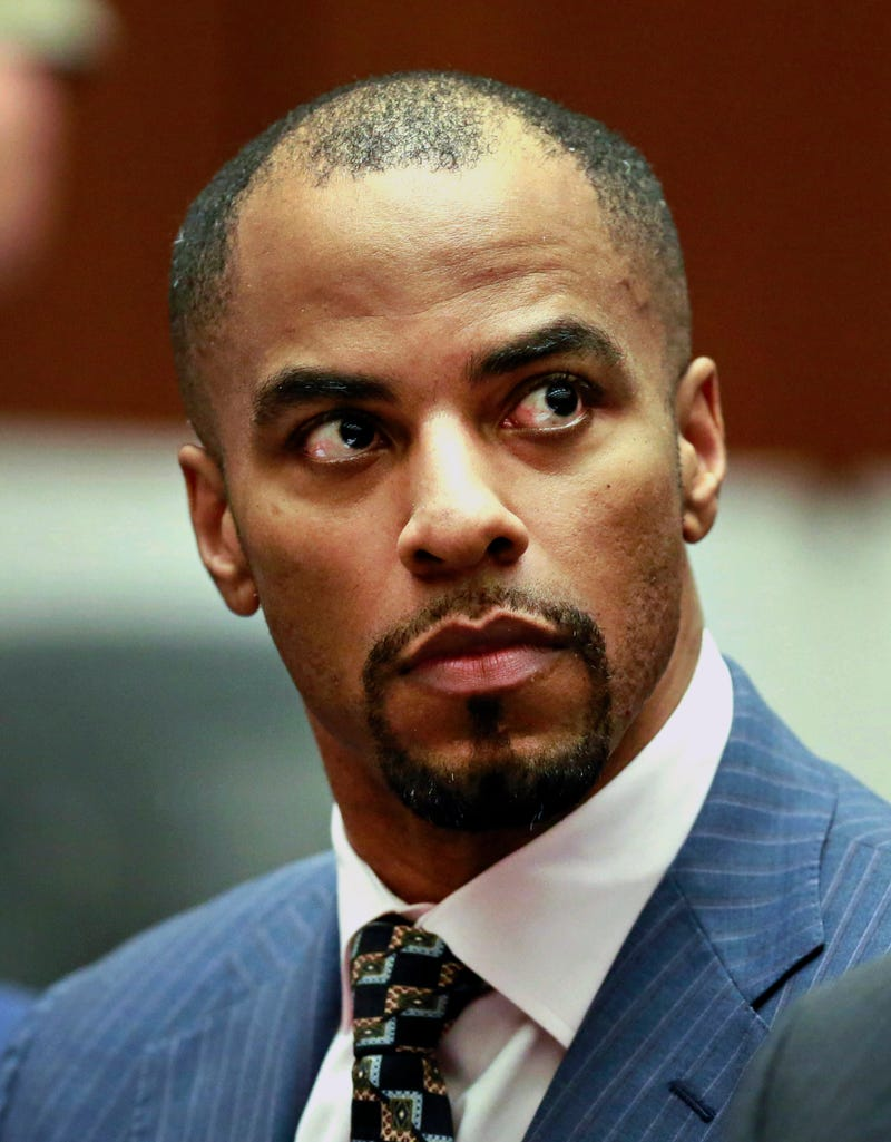 Former NFL safety Darren Sharper appears in Los Angeles Superior Court on March 23, 2015.Nick Ut-Pool/Getty Images
