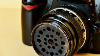 Illustration for article titled Build a Soft Focus Filter for Your DSLR with a Sink Drainer