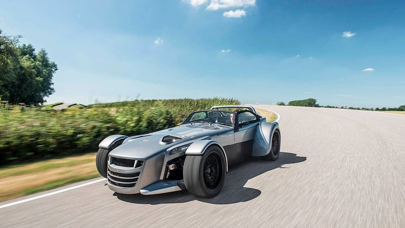 Illustration for article titled The Donkervoort D8 GTO is a thing you survive