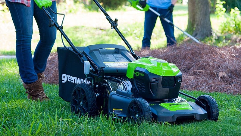 GreenWorks G-MAX 40V Cordless Lawn Mower, $225 for Prime Members