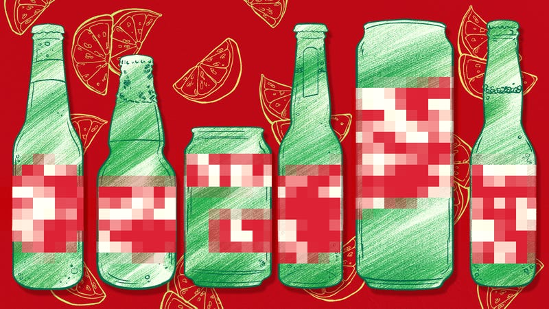 Illustration for article titled A blind taste test to determine the best Mexican lager