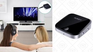 Receptor/Transmisor de Bluetooth con S/PDIF | $28 | Amazon | Código promocional AUXMAS02