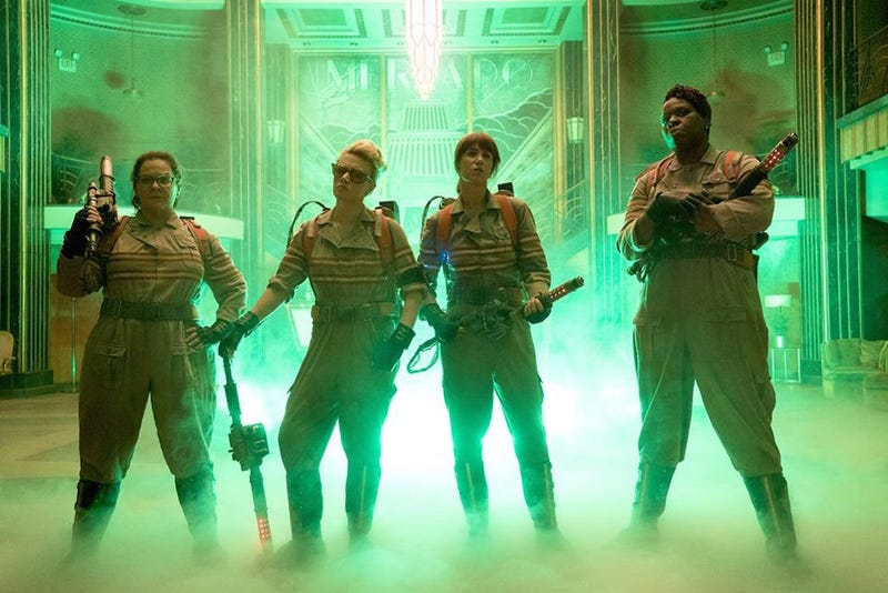 Illustration for article titled Here's Your First Official Look at the New Ghostbusters