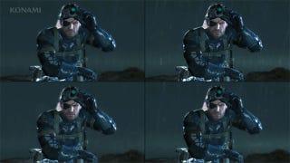 Illustration for article titled Metal Gear Solid V: Ground Zeroes: The Platform Comparison Videos