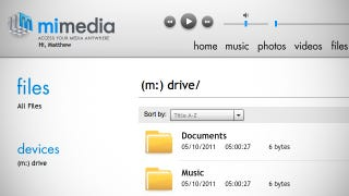 Illustration for article titled MiMedia Cloud Media Service Offers 7GB Free Storage, Not Quite Ready Yet