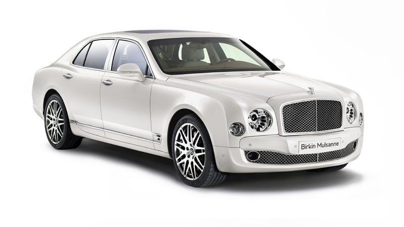 Illustration for article titled Bentley's Got A New Special Mulsanne, But It's Only For Europe