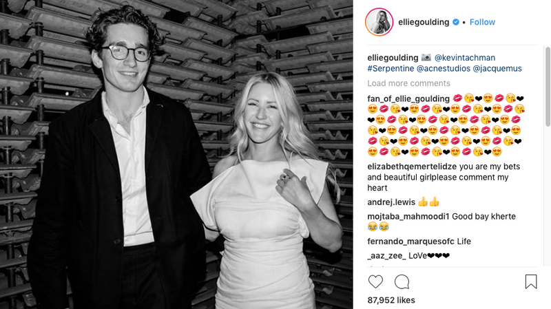 Illustration for article titled Ellie Goulding Is Engaged to an Old Money Guy