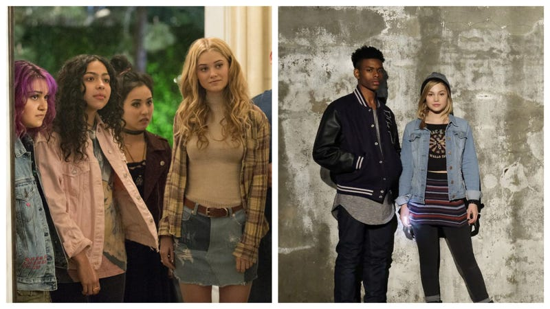Marvel's Runaways (left) and Cloak and Dagger (right).