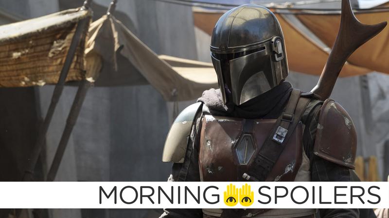 The titular Mandalorian saunters around in Jon Favreau's new Star Wars show.