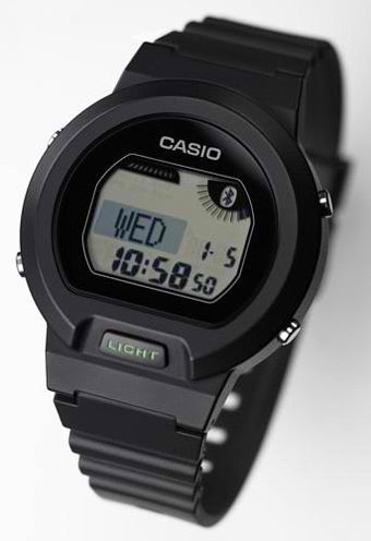 Illustration for article titled Casio Bluetooth Watch Puts Your Phone's Info on Your Wrist