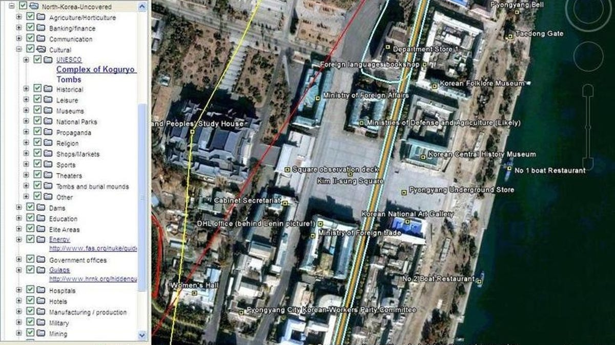 North Korea Secrets Uncovered In Google Earth by Amateur Spies on nauru google maps, lesotho google maps, niger google maps, grenada google maps, morocco google maps, micronesia google maps, poland google maps, united arab emirates google maps, united kingdom google maps, philippines google maps, netherlands google maps, weird on google maps, libya google maps, asia google maps, panama google maps, north korean phisycal maps, rainbow plane google maps, tuvalu google maps, planet x nibiru google maps,