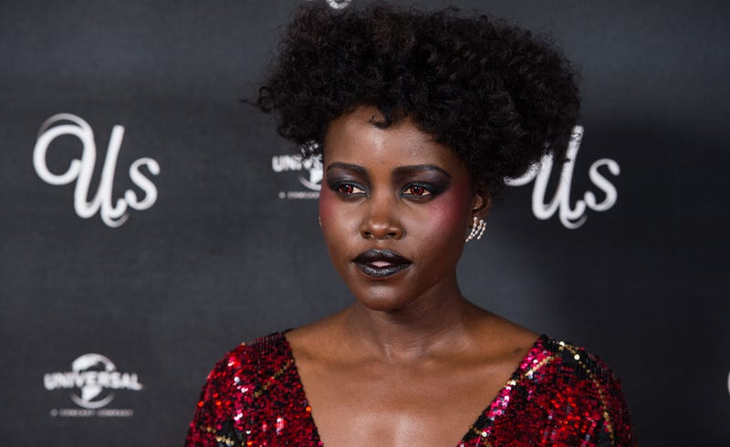 Lupita Nyong'o attends UK exclusive screening of 'Us' on March 14, 2019 in London, England.