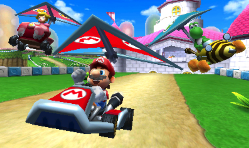 Illustration for article titled New Glitch Leads To Fastest Mario Kart 7 Track Time