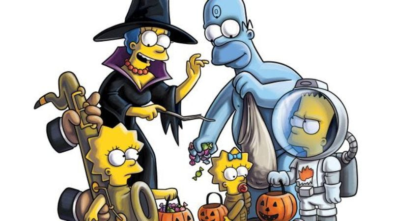 "Illustration for article titled The Simpsons: ""Treehouse Of Horror XXII"""