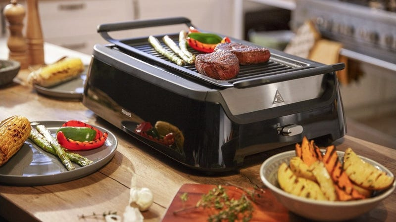 Philips Indoor Smoke-less Grill and Cleaning Tool | $250 | Amazon