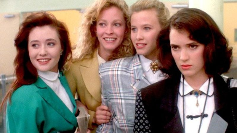 Illustration for article titled TV Land makes its damage known, announces Heathers TV series