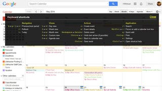 Reminder: Google Calendar Has Keyboard Shortcuts, Too