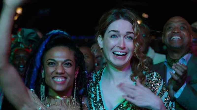 Freema Agyeman (left), Jamie Clayton
