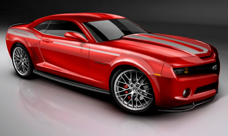 Illustration for article titled Hennessey Limited Edition 2010 HPE550 Camaro, For Junior