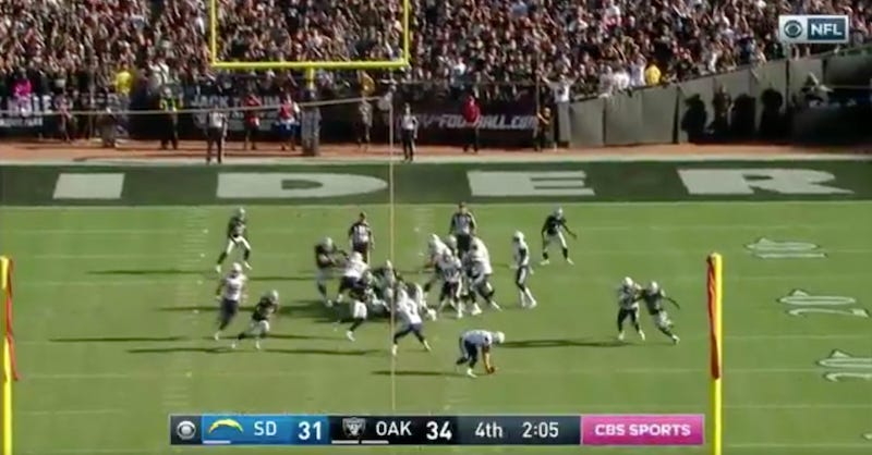 Illustration for article titled Chargers Line Up For Game-Tying Field Goal, Crap Themselves