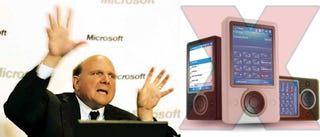 Illustration for article titled Ballmer Says No Zune Phone...Sorta