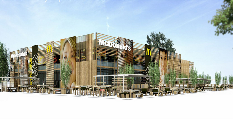 Illustration for article titled For The Olympics, London Gets The World's Largest McDonald's